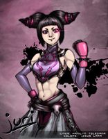 Street Fighter 4: Juri Han by zeusplara