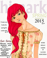 Sun Song - himark Magazine Cover by Sedecrem