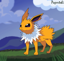 Pokemon: My Jolteon! by Papertobi