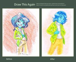 Draw this Again - Faikel Portray by Atrixfromice
