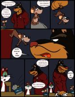 Comic commission: Chow Hound The Untold Story 7 by CaseyLJones