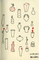 bottles and vases by vivianysm