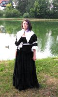 Stahlrose's Baroque Gown by HistoricCostume
