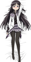 Homura Vector - (Bedsheet version) by BlackStormN7