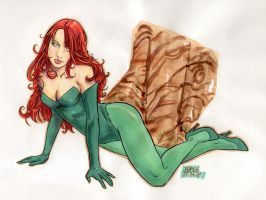 Poison Ivy by fabioredivo