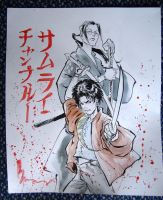 Samurai Champloo by justbuzz