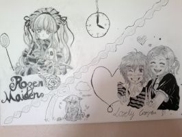 Full picture /Lovely Complex // Rozen Maiden by LacriChan