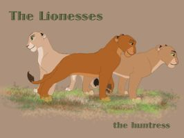 The Lionesses by dyb