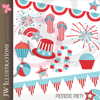 Patriotic Party by jdDoodles