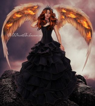 *angel of fire* by BellaDreamArt
