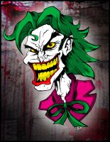 Joker's Wild Colored by TheJokesOnYou