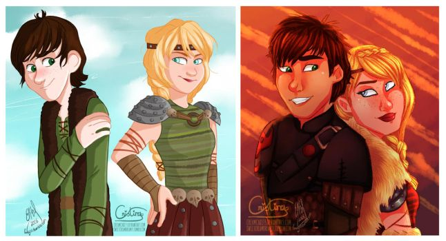 Collab! HTTYD with Laney10! by creamcake13