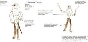 Le Comte de Fromage by TheJollyMisanthrope