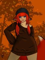 Autumn outfit by NeonBloodRose