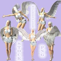 STOCK PNG winter queen set 1 by MaureenOlder