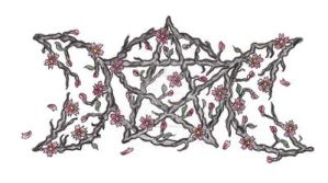 cherry blossom pentacle by expedient-demise