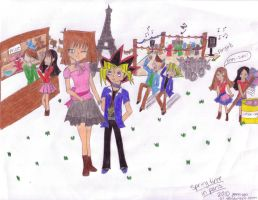 :spring time in paris: colored by yami200