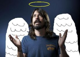 Dave Grohl, or Diety? by SiriWay13