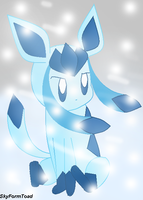-Glaceon- 8D by SkyFormToad