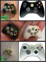 XBox Control Ring and necklace by Louness26