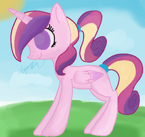 Filly Princess Cadance by MissMagicalWolf