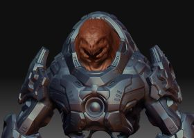 Small update on the elite:face by MikeJensen