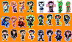 Homestuck Stickers by cam070
