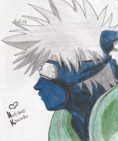 Naruto - Hakate Kakashi by kitty-moonlight