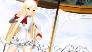 [MMD] Lili by MrWhitefolks