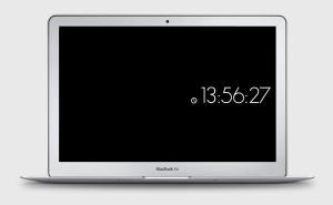 MinimalClock Screensaver by yetilabs