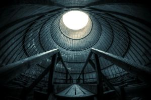 Cooling tower II by Remiorski