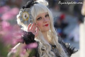 Gothic Circus Bunny- lolita fashion by jobiberry