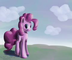 Pinkie Pie Contrast Practice by DarkFlame75