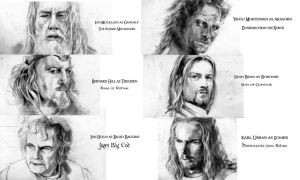 Cast of LOTR by BY-design