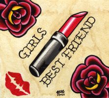 Girls Best Friend by Vicki-Death