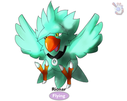 The Pokemorphed Chocobo by RB9