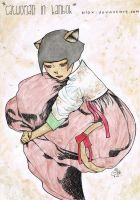 catwoman in hanbok (scan version) by bilox