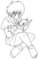 Wolfwood - Cub by julewooster