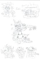 Pencil Scribbles For Tumblr by Kittychan2005