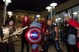 AVENGERS movie premire group1 by Tokyo-Trends