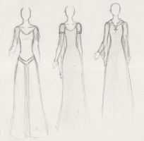CoN: Costume Designs 2 by TerraForever