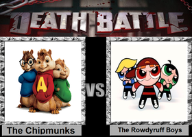 The Chipmunks vs. The Rowdyruff Boys by Toongirl18