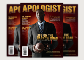 Apologist Church Magazine Cover Template by loswl