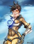 Tracer - Overwatch by Gioluengo