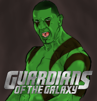 drax the destroyer by ivo0599