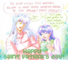 Happy St. Pat's to ma Watchers by nillia