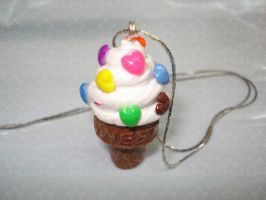 Ice Cream Necklace by Candy27