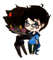 John x Karkat by ScreamingLullabies
