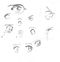 Detective Conan Eyes by tRoUbLeSoMecHiCa