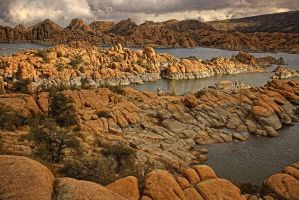Granite Dells Scenic by papatheo